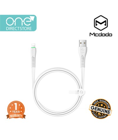 Mcdodo Flying Fish Series Lightning Data Cable With LED Light 1.2M - CA636