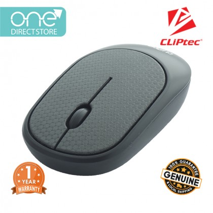 CLiPtec LEATHER XILENT 2.4Ghz Wireless Leather Silent Mouse RZS855L