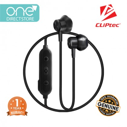 CLiPtec Air-Rhythm Wireless Bluetooth 5.0 Magnetic Stereo Earphone BBE105