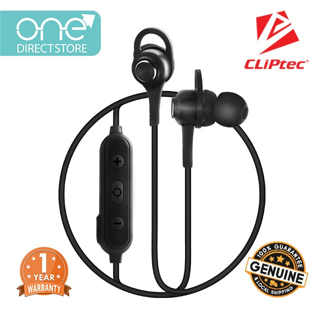 Cliptec Air Mix Magnetic Stereo Wireless Bluetooth 5 0 Earphone Bbe106