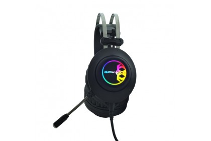 CLiPtec REKAZOUS USB 7.1 RGB Illuminated Pro-Gaming Headset BGH860