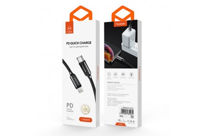 Mcdodo Smart Series PD Quick Charge Type-C To Lightning Cable 1.2M - CA687