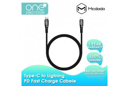 Mcdodo Porsche Series PD Type-c to Lightning Cable 1.2M CA708