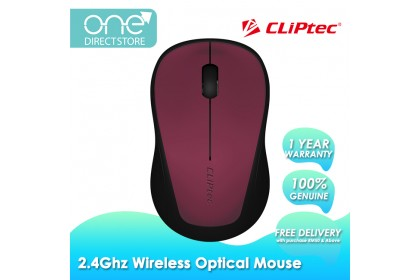 CLiPtec CLIP-TRAX 2.4Ghz Wireless Optical Mouse RZS866