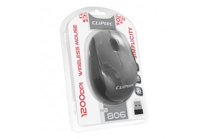 CLiPtec SIMPLICITY 1200dpi 2.4Ghz Wireless Optical Mouse RZS806