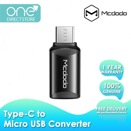 Mcdodo Quick Charge Type-C To Micro USB Connector OT769
