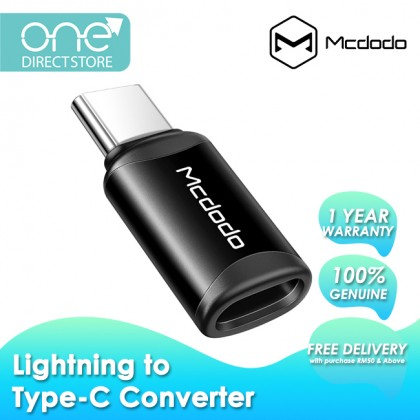 Mcdodo 3A Max Lightning To Type-C Connector OT770