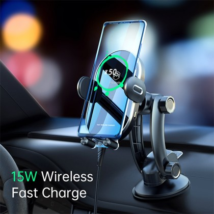 Mcdodo Space Series 15W Car Holder with Wireless Charger CH762