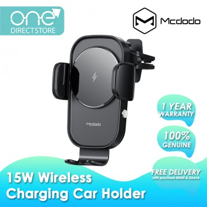 Mcdodo Sky Series 15W Car Holder with Wireless Charger CH793
