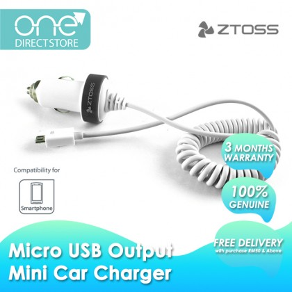 ZTOSS VOLT-MICRO M1 Mini Micro USB Car Charger SPC591
