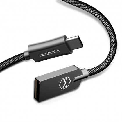 Mcdodo Knight Series 2A QC3.0 USB AM to Type-C Data Cable 1.5m CA439
