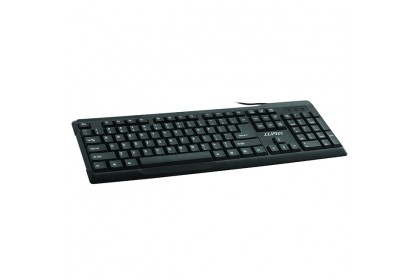 CLiPtec OFIZ-COMBO USB Keyboard and Mouse Combo Set-RZK261 (Black)