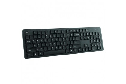 CLiPtec Wireless Multimedia Keyboard and Mouse Combo Set-RZK338 (Black)