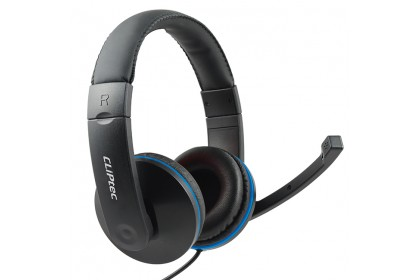 CLiPtec PCWAVE Dynamic Stereo Multimedia Headset-BMH529 (Black)