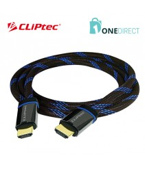 CLiPtec High Speed HDMI Cable with Ethernet 1.8 m-OCD550