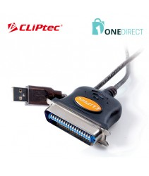 CLiPtec USB to Parallel Printer Convertor-OCB301