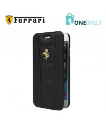 Ferrari 458 Collection Leather Gold Logo Booktype Case iPhone 6/6S