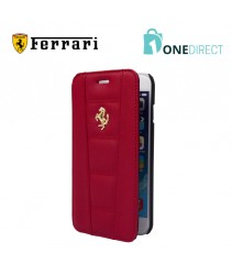 Ferrari 458 Collection Leather Gold Logo Booktype Case iPhone 6Plus/6S Plus
