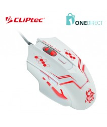 CLiPtec THERIUS 2400dpi Illuminated Gaming Mouse RGS563