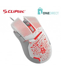 CLiPtec KORONO 3200dpi Illuminated Gaming Mouse RGS565