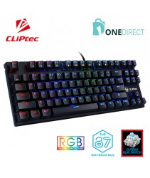 CLiPtec Scancorio RGB Mechanical Pro-Gaming Keyboard RGK830