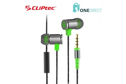 CLiPtec FIRE-BULLET In-Ear Gaming Earphone with Microphone BGE670