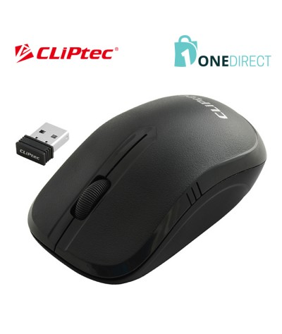 CLiPtec ESSENTIAL 1200dpi 2.4GHz Wireless Optical Mouse RZS842