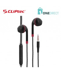 CLiPtec FIESTA-SONIC Multimedia Earphone with Mic. & Controller BME616
