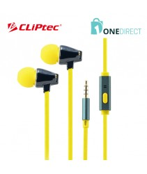 CLiPtec REMEOZ Ceramic In-Ear Earphone with Microphone BME701