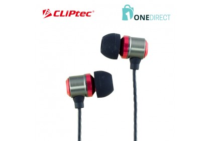 CLiPtec BLACK PARTY In-Ear Earphone with Microphone & Volume Control BME888