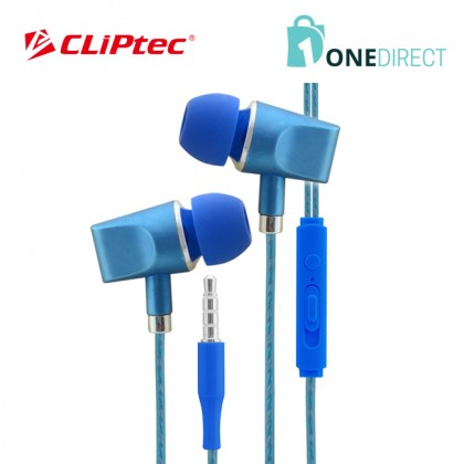 CLiPtec URBAN ART In-Ear Earphone with Microphone & Volume Control BME636