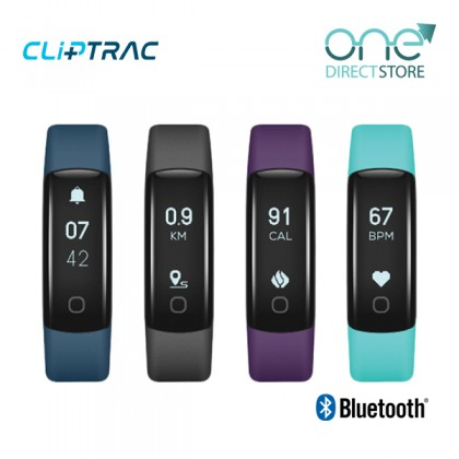 CLiPTRAC Heart Rate Pedometer Watch FHP165