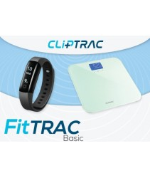 CLiPTRAC FitTRAC Basic (HR Pedometer + Weight Scale)