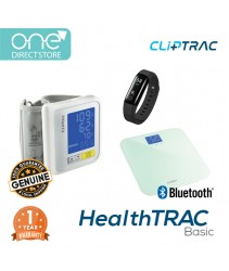 CLiPTRAC HealthTRAC Basic (HR Pedometer+Weight Scales+BloodPressure(Wrist)