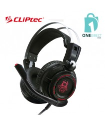 CLiPtec ZAMBEOS LED Illuminated Vibration Gaming Headset BGH731