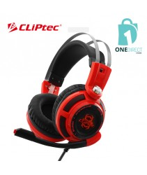 CLiPtec STEGERIOUS LED Illuminated Stereo Gaming Headset BGH665