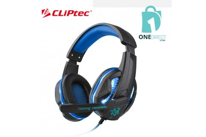 CLiPtec STEGOUS S1 LED Illuminated Stereo Gaming Headset BGH661