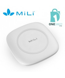 MiLi Power Magic Plus QI Wireless Charger Built-in Power Bank 4700mah (White)
