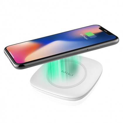 MiLi Power Magic QI Wireless Charger (White)