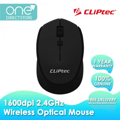 CLiPtec 1600dpi 2.4GHz Wireless Optical Mouse M157