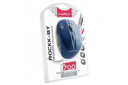 CLiPtec ROCKK-BT 1200dpi Bluetooth Wireless Optical Mouse RZS700
