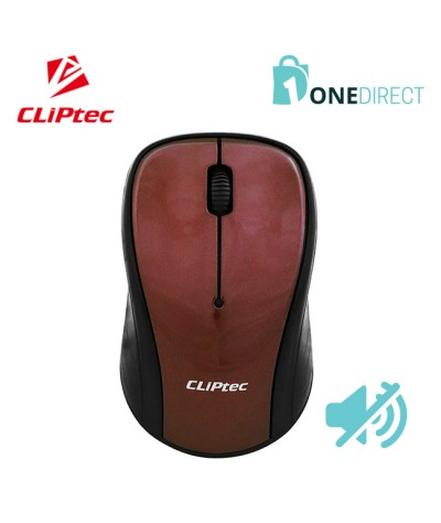 CLiPtec XILENT II 2.4Ghz 1200dpi Wireless Silent Mouse RZS856