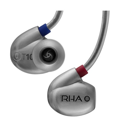 RHA T10i: High Fidelity, Noise Isolating In-Ear Headphone With Remote And Microphone
