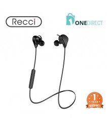 Recci Bluetooth 4.1 Wireless Earphone with Mic- Shell