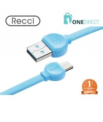 Recci 2.4A USB to Micro USB Cable 1M - Dot