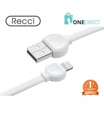 Recci USB to Lightning Cable 1M - Dot