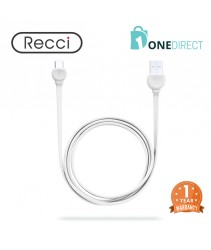 Recci 2.4A USB to Type-C Cable 1M - Dot