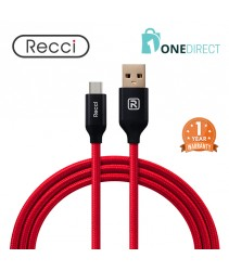 Recci 2.4A USB to Micro USB Cable Fast Charging & Data Transfer 1.2M - Velocity