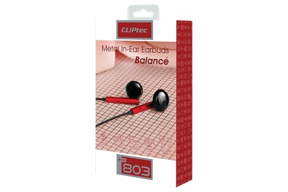 CLiPtec Balance Metal In-Ear Earbuds BME803
