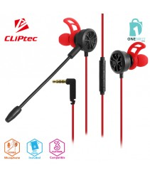 CLiPtec SPIDERUOS In-Ear Gaming Earphones with Double Microphone BGE681